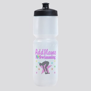 LOVE SWIMMING Sports Bottle