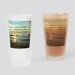 JOHN 14:6 Drinking Glass
