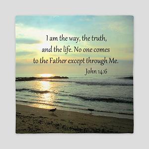 JOHN 14:6 Queen Duvet