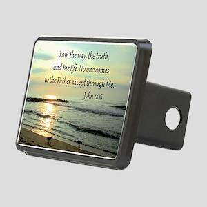 JOHN 14:6 Rectangular Hitch Cover