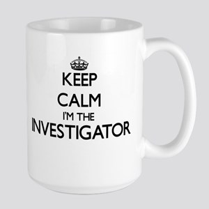 Keep calm I'm the Investigator Mugs