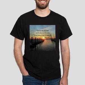JOHN 14:6 Dark T-Shirt