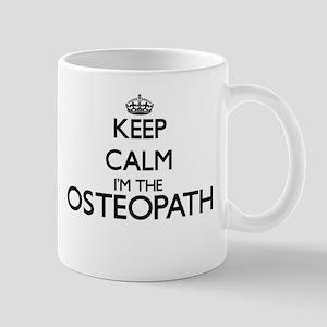 Keep calm I'm the Osteopath Mugs
