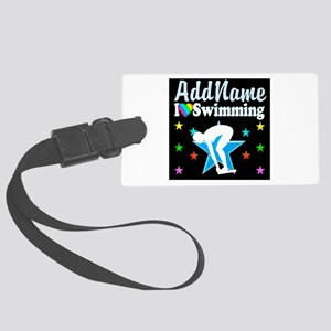 SWIMMING STAR Large Luggage Tag