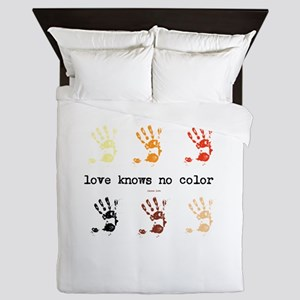 love knows no color Queen Duvet