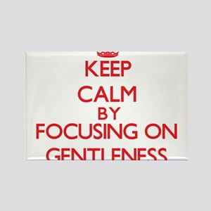 Keep Calm by focusing on Gentleness Magnets