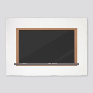 Chalk Board 5'x7'Area Rug