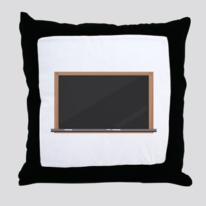 Chalk Board Throw Pillow