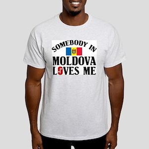 Somebody In Moldova Light T-Shirt