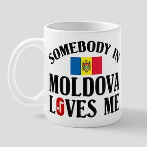 Somebody In Moldova Mug