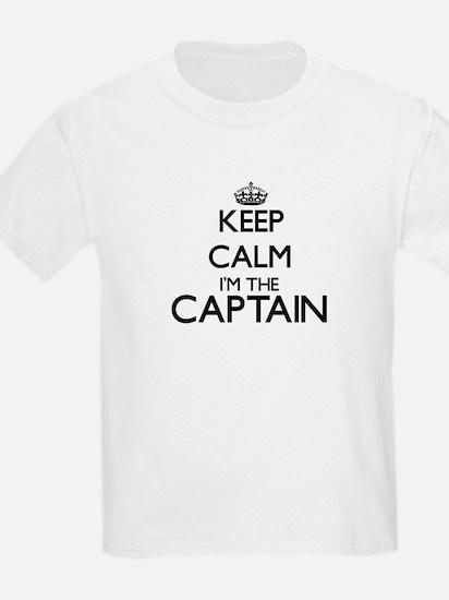Keep calm I'm the Captain T-Shirt