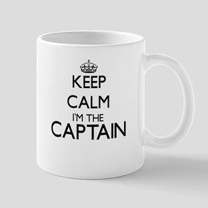 Keep calm I'm the Captain Mugs