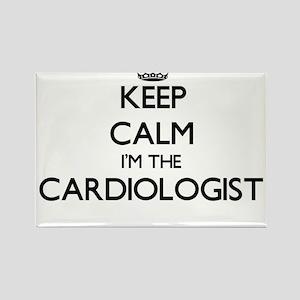 Keep calm I'm the Cardiologist Magnets