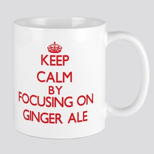 Keep Calm by focusing on Ginger Ale Mugs