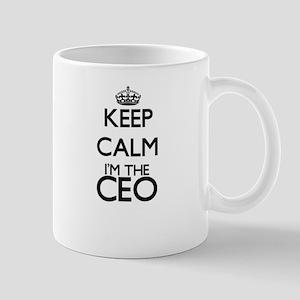 Keep calm I'm the Ceo Mugs