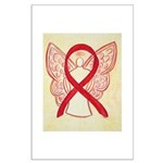 Red Ribbon Angel Posters