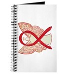 Red Ribbon Angel Journal