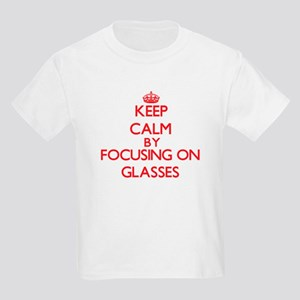 Keep Calm by focusing on Glasses T-Shirt