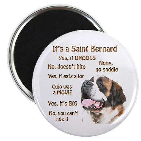 Saint Bernard FAQ Magnet