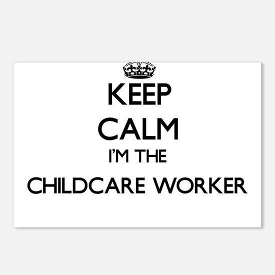 Keep calm I'm the Childca Postcards (Package of 8)