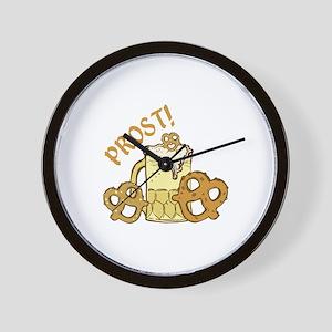 Prost! Wall Clock