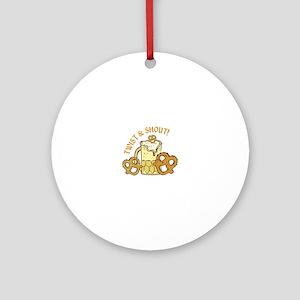 Twist & Shout Ornament (Round)