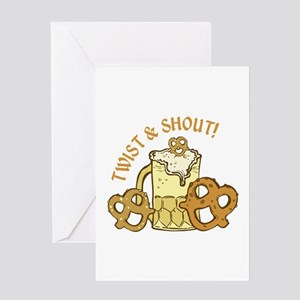 Twist & Shout Greeting Cards