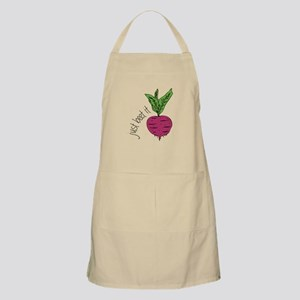 Just Beet It Apron