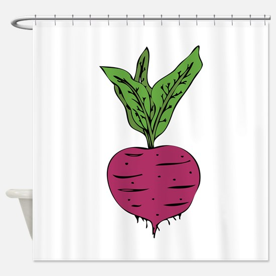 Beet Shower Curtain