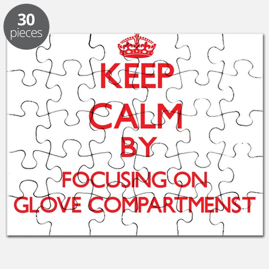 Keep Calm by focusing on Glove Compartmenst Puzzle