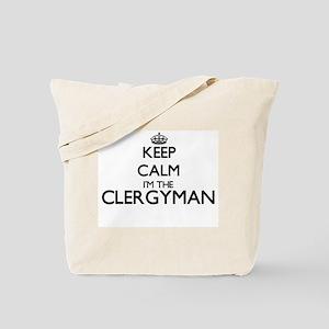 Keep calm I'm the Clergyman Tote Bag