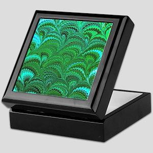 Bright Wild Green Keepsake Box