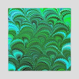 Bright Wild Green Queen Duvet