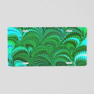 Bright Wild Green Aluminum License Plate