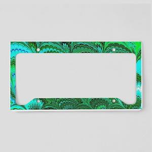 Bright Wild Green License Plate Holder