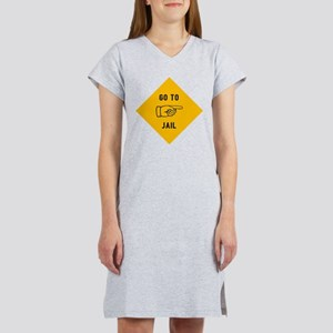 Go To Jail Women's Nightshirt