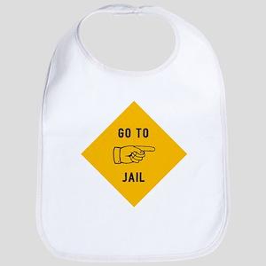 Go To Jail Bib