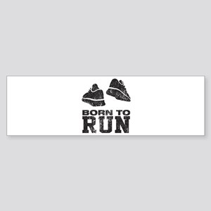 Born To Run Sticker (Bumper)