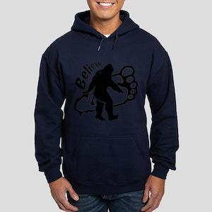 Bigfoot Believe Hoodie (dark)