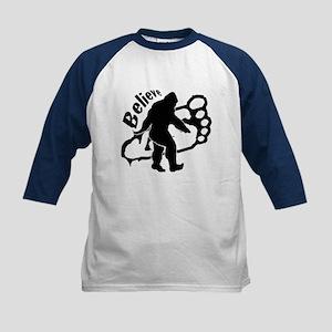 Bigfoot Believe Kids Baseball Jersey