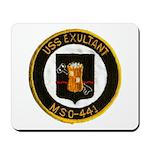 USS EXULTANT Mousepad