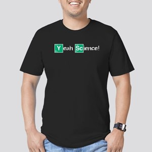 Yeah, Science! Men's Fitted T-Shirt (dark)