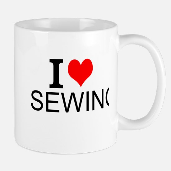 I Love Sewing Mugs