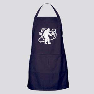 Bigfoot Believe w Apron (dark)