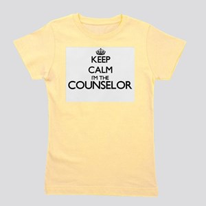 Keep calm I'm the Counselor Girl's Tee