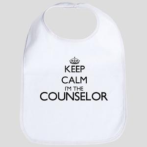 Keep calm I'm the Counselor Bib