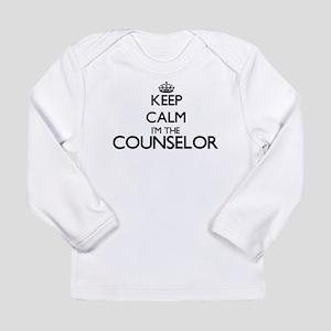 Keep calm I'm the Counselor Long Sleeve T-Shirt