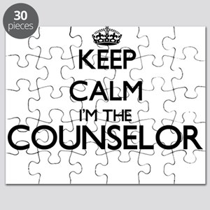 Keep calm I'm the Counselor Puzzle