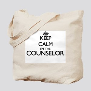 Keep calm I'm the Counselor Tote Bag