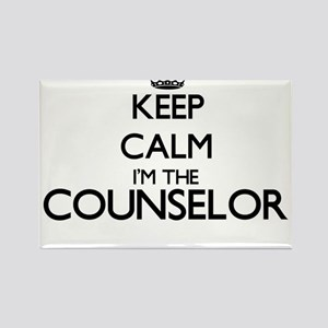 Keep calm I'm the Counselor Magnets